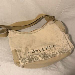 Converse shoulder strap tote bag